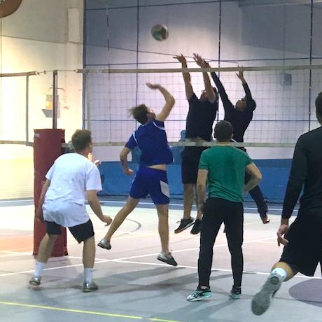 Indoor Volleyball Pickup