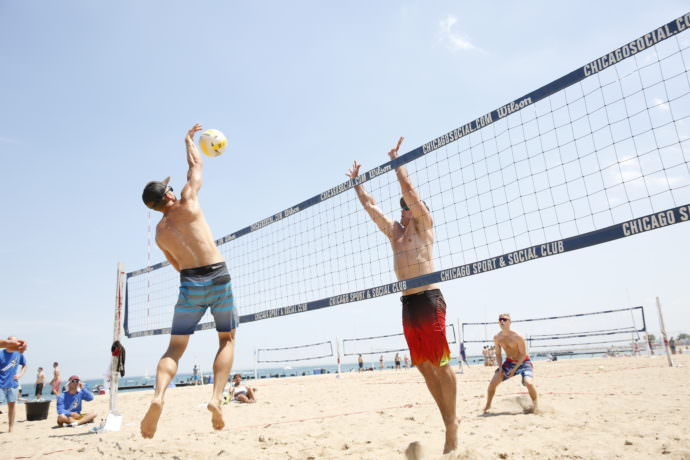 Beach Volleyball Leagues - Chicago Sport and Social Club