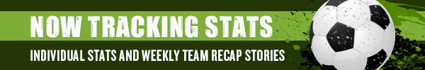 Soccer stats banner