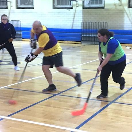 Floor Hockey Pickup